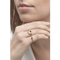 Reverie Ring Goud Zwart
