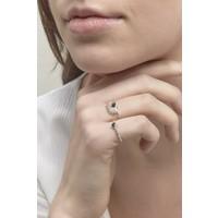 Reverie Ring Silver Black