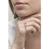 thumb-Reverie Ring Silver Black-5