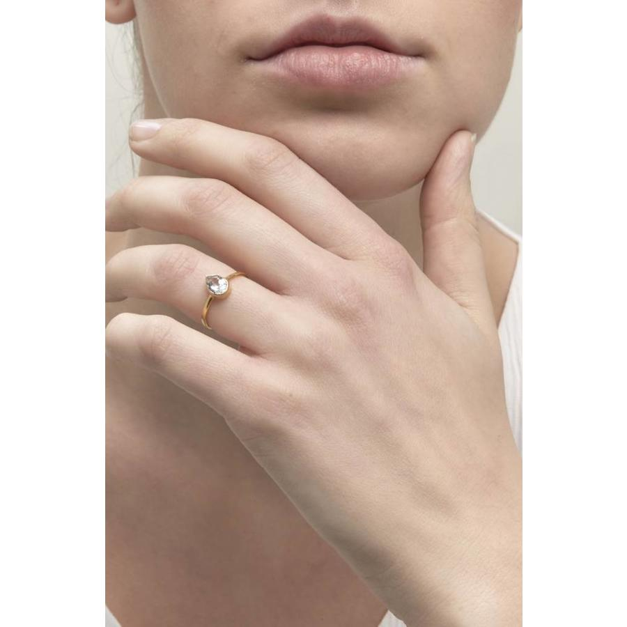 Clear Ring Goud-2