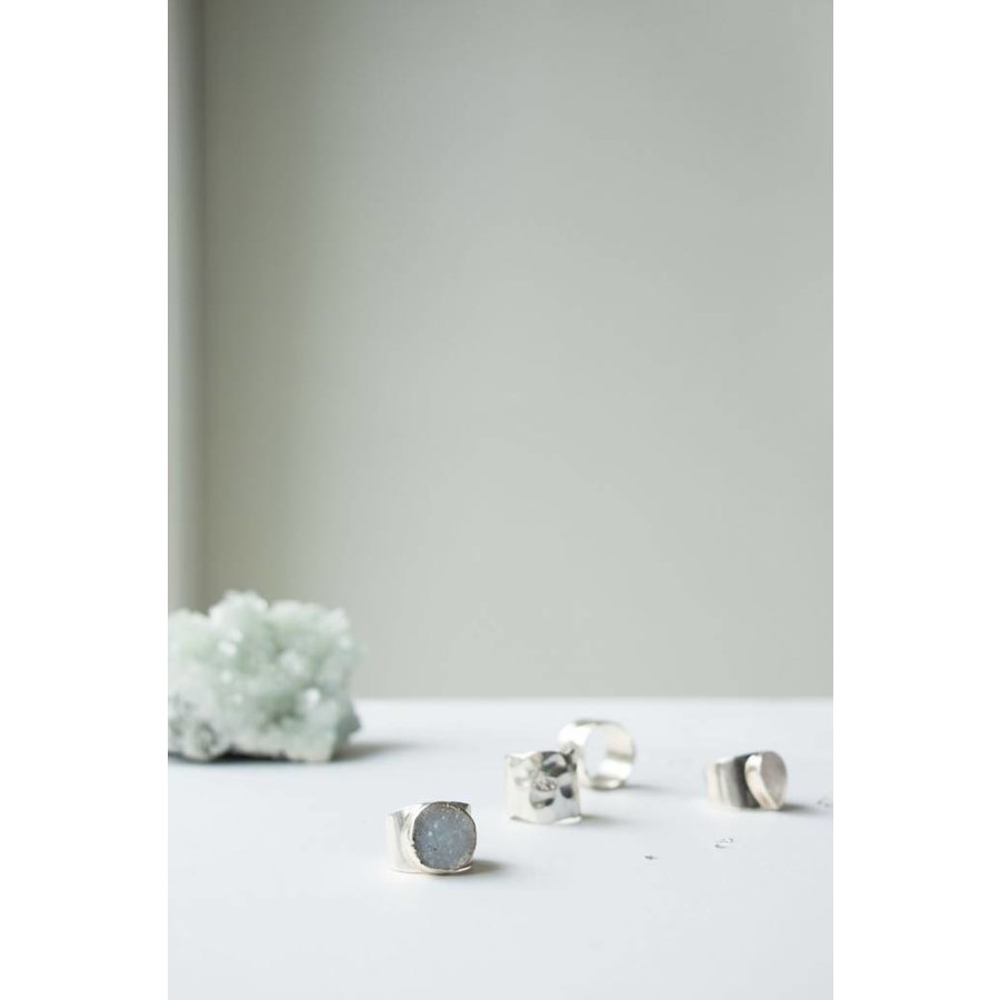 Surrender Ring Silver