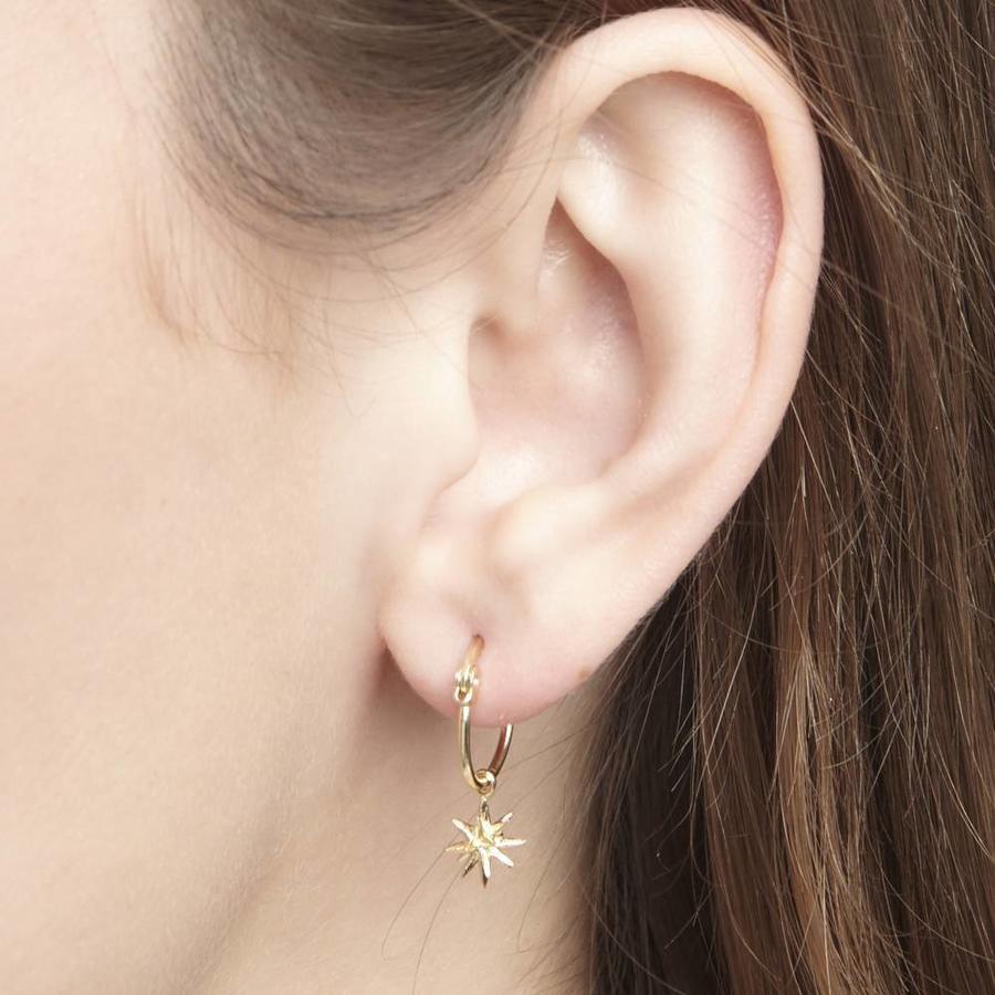Rise Earrings Gold-2
