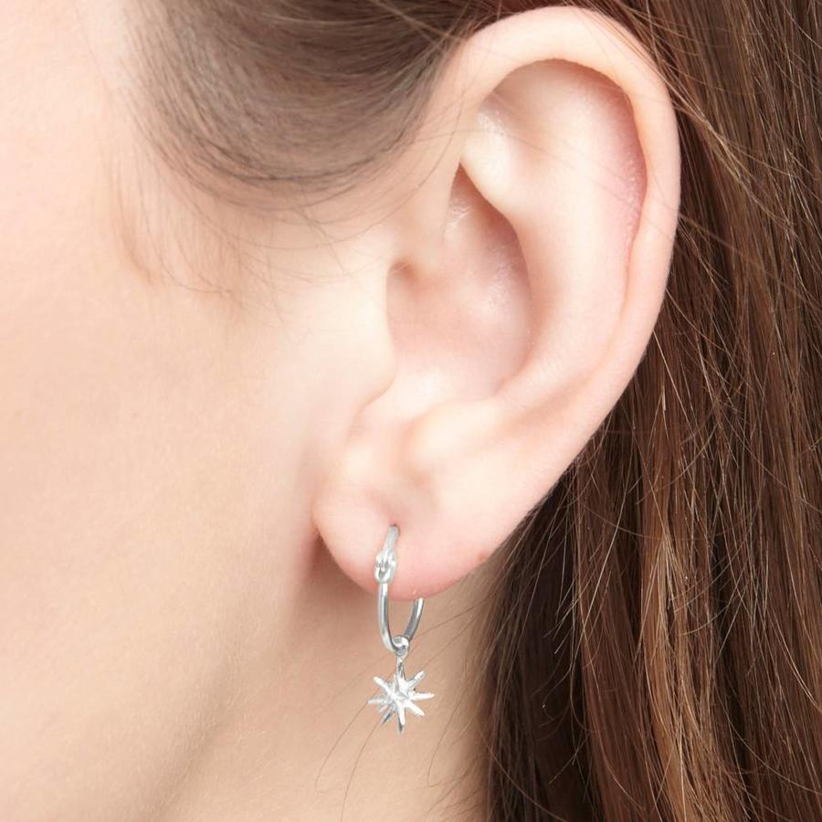 Rise Earrings Silver-2