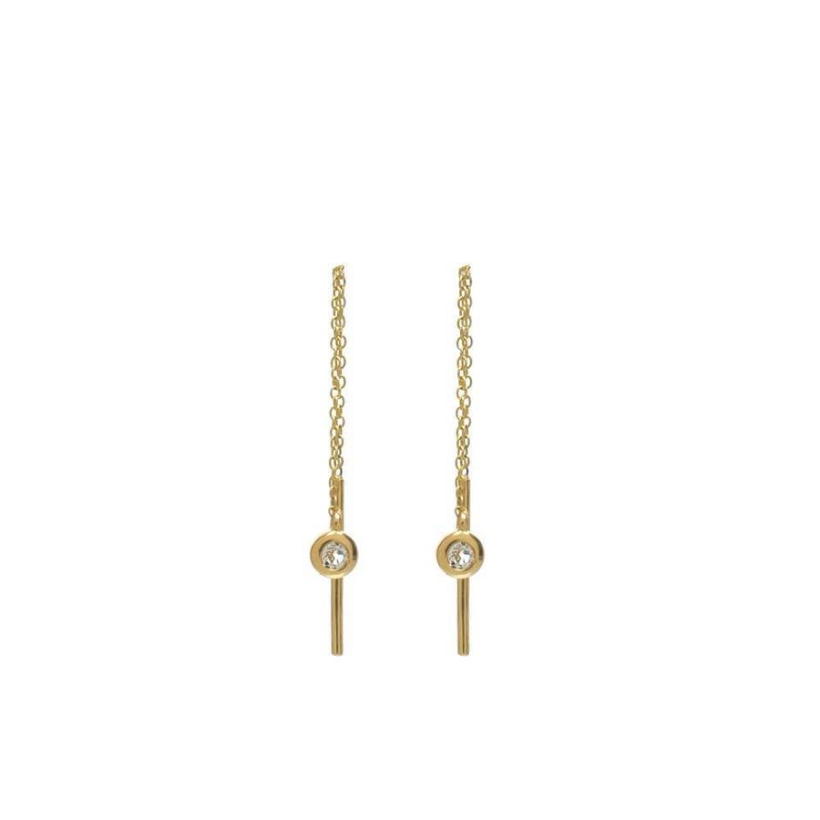 Enlighted Earrings Solid Gold-1