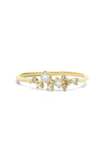 Radiance Ring 18krt Goud