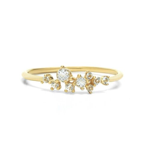 Radiance Ring Solid Gold