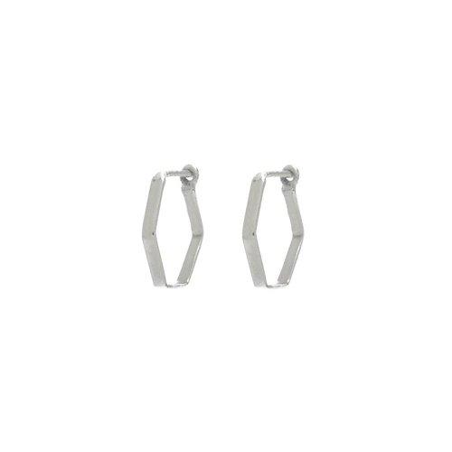 Prisma Hoops Silver