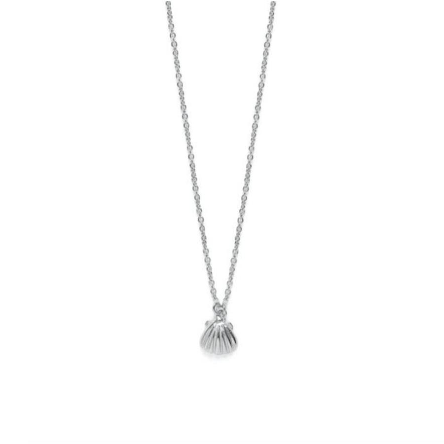Shell Ketting Zilver-1