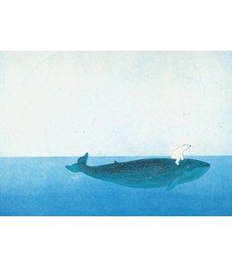 Marije Tolman Fotobehang Riding The Whale