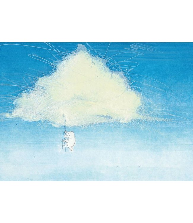 Marije Tolman Wall Mural for kids Climbing The Clouds, 389.6 x 280 cm