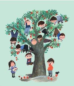 Fotobehang Apple Tree