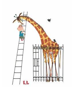 Fotobehang Giant Giraffe