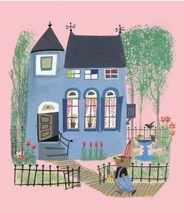 Fiep Westendorp Bear with Blue House