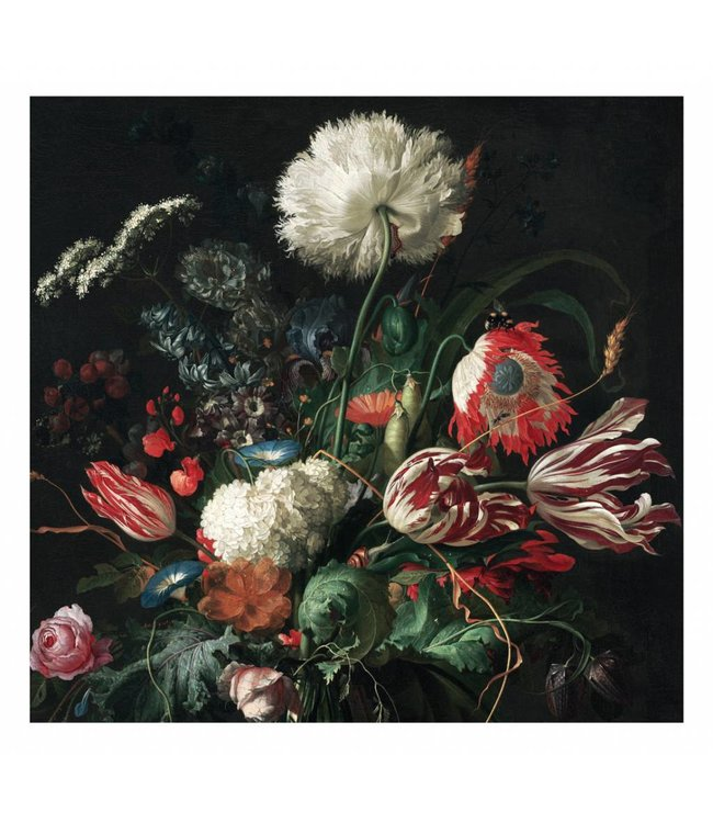 Wall Mural Golden Age Flowers 1, 292.2 x 280 cm