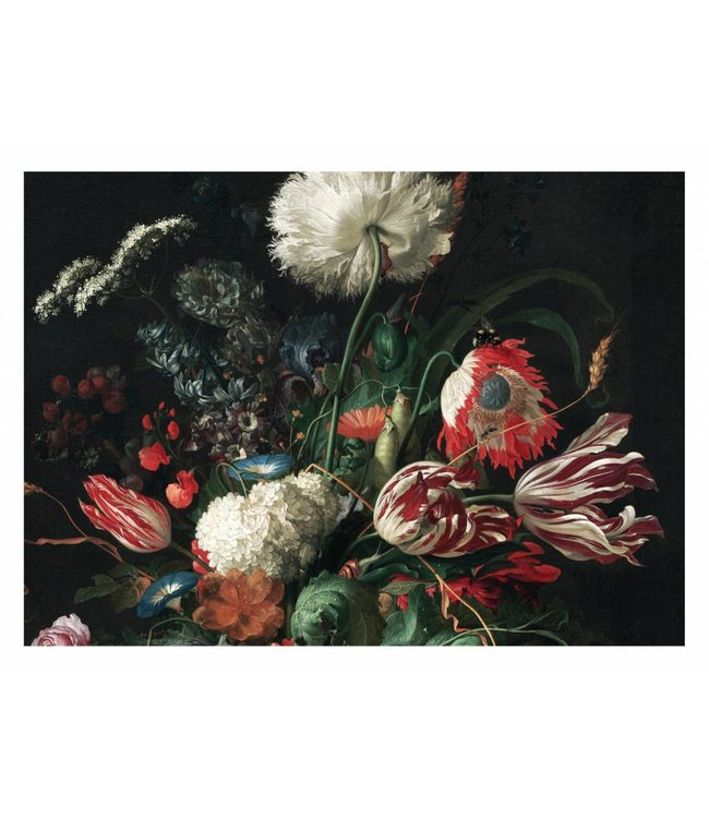 Wall Mural Golden Age Flowers 1, 389.6 x 280 cm