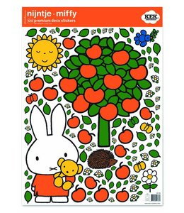 Dick Bruna Nijntje muurstickers Apple tree