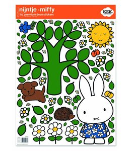 Dick Bruna Nijntje muurstickers Big tree
