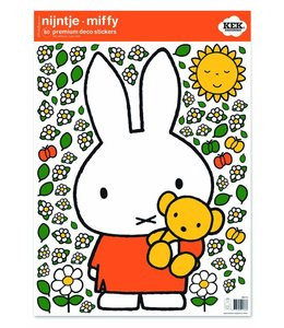 Dick Bruna Miffy Wandtattoos Miffy with little bear