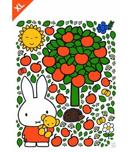 Dick Bruna Nijntje muurstickers Apple tree XL