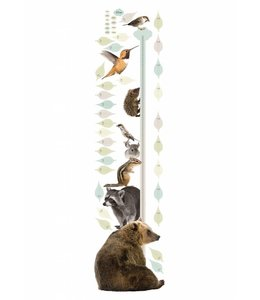 Muursticker Growth Chart 2