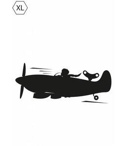 Tafelfolie  for Boys Airplane, XL