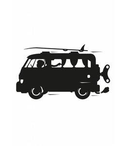Tafelfolie Toys for Boys Surf Van, M