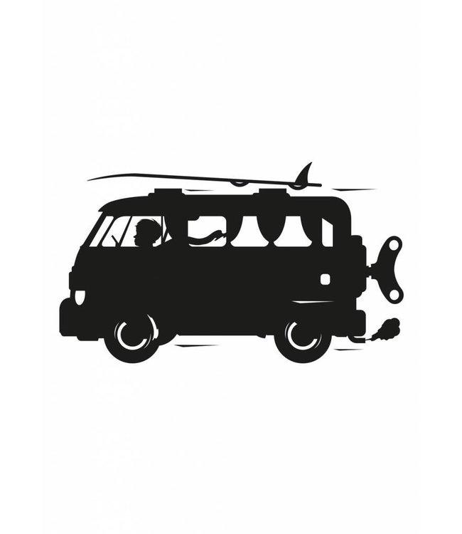 Tafelfolie Toys for Boys Surf Van, M: 98 x 89 cm
