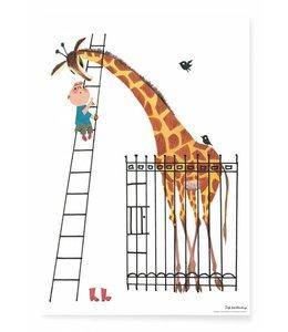 Fiep Westendorp Poster Giant Giraffe