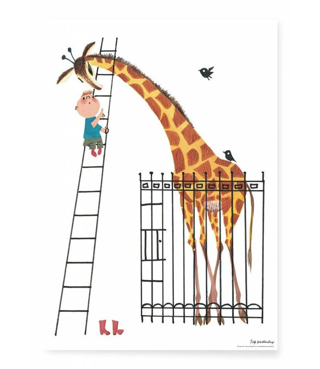 Fiep Westendorp Poster Giant Giraffe, 42 x 59.4 cm