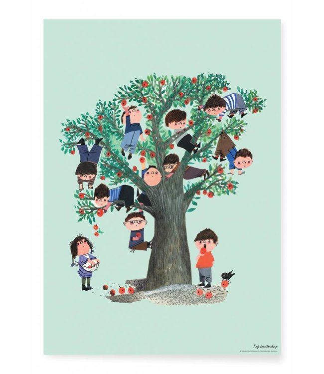 Fiep Westendorp Poster Apple Tree, 42 x 59.4 cm