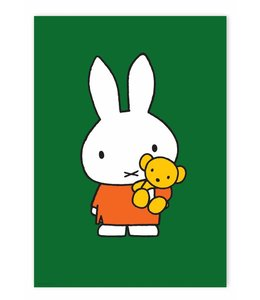 Dick Bruna Poster Miffy with little bear
