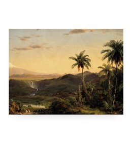 Prints auf Holz, Golden Age Landscape 2, L