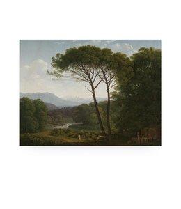 Prints auf Holz, Golden Age Landscape 3, M