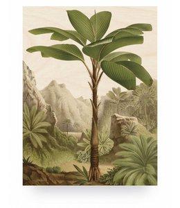 Prints auf Holz, Banana Tree, M