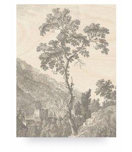 Engraved Tree, L