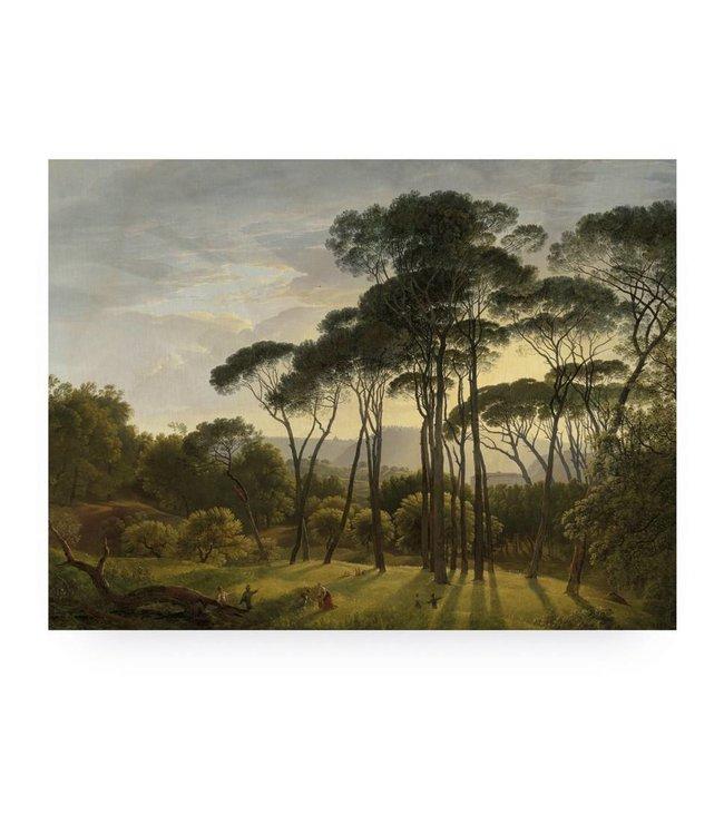 Prints auf Holz, Golden Age Landscape 1, L, 100 x 75 cm