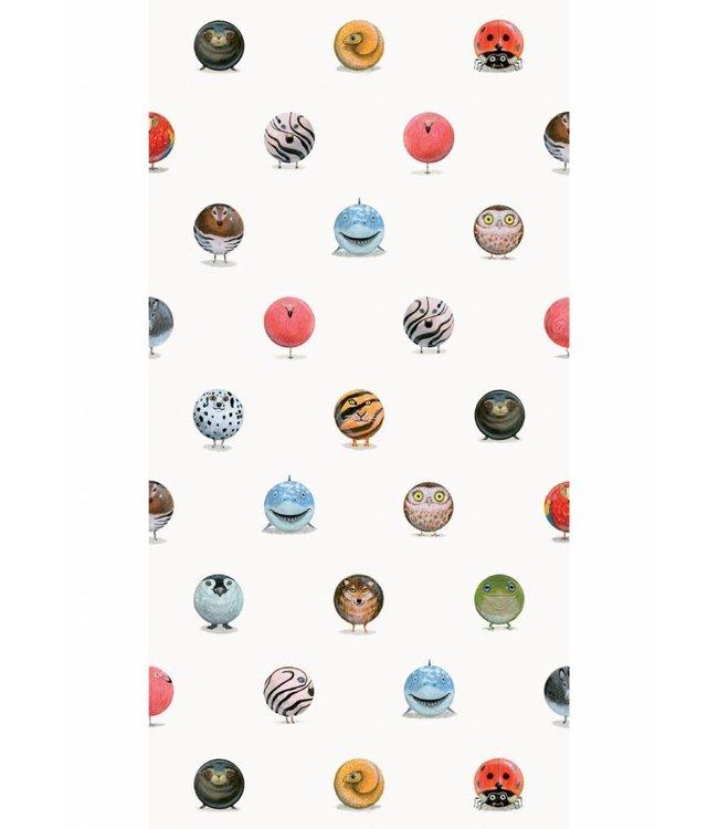 Martijn van der Linden Wallpaper for kids Animal Marbles