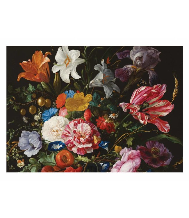 Wall Mural Golden Age Flowers 6, 389.6 x 280 cm