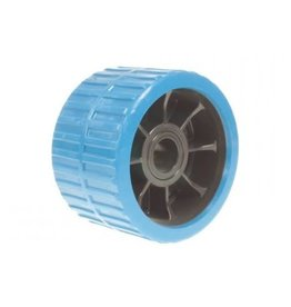 Maypole Blue Non Marking Ribbed Wobble Boat Roller 74 x 120 x 26 5mm