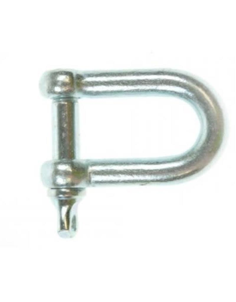 11mm D Shackle with Screw Pin | Fieldfare Trailer Centre