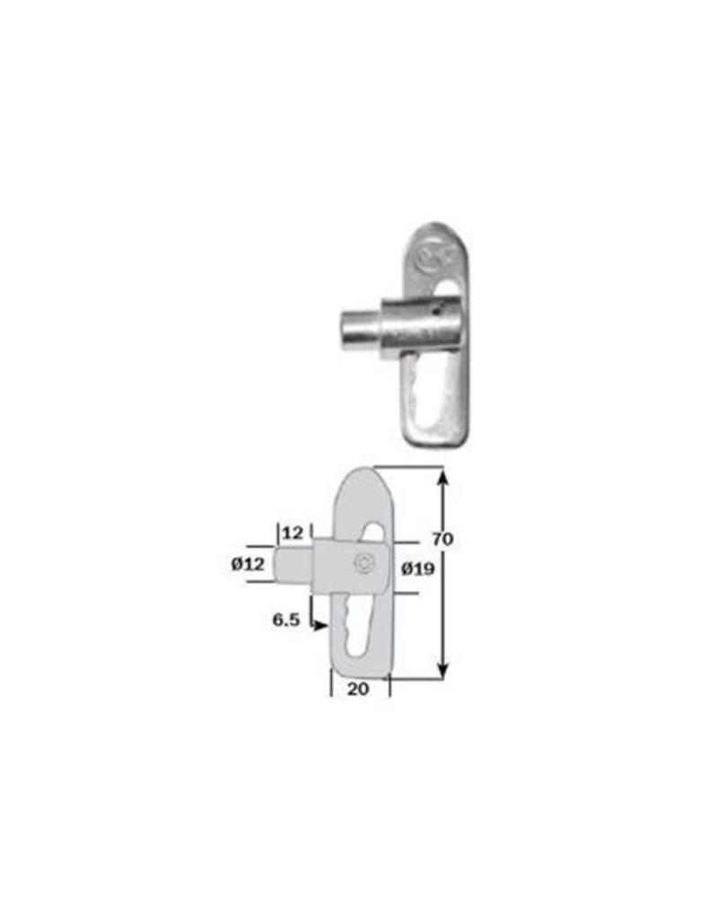 Anti Luce Drop Lock 12mm Shank | Fieldfare Trailer Centre