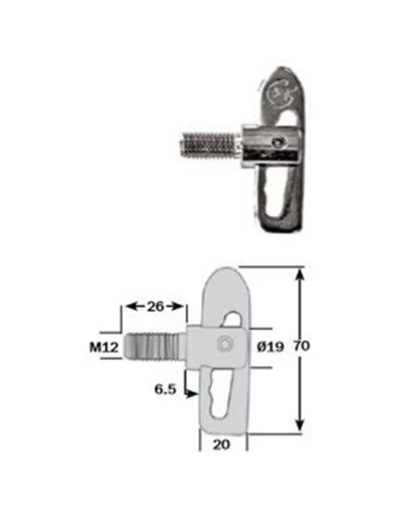 Anti Luce Drop Lock 26mm Shank | Fieldfare Trailer Centre