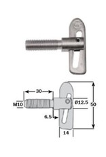 Anti Luce Drop Lock 30mm Shank | Fieldfare Trailer Centre