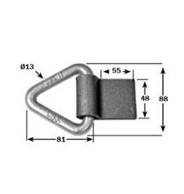 Short Plate Weld-On Lashing Ring AROP357/SP