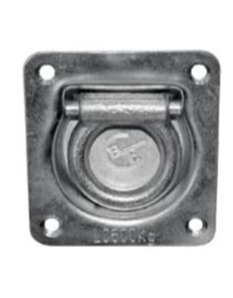 Recessed Trailer Spring Loaded Lashing Ring AROP410/SPR   Fieldfare Trailer Centre