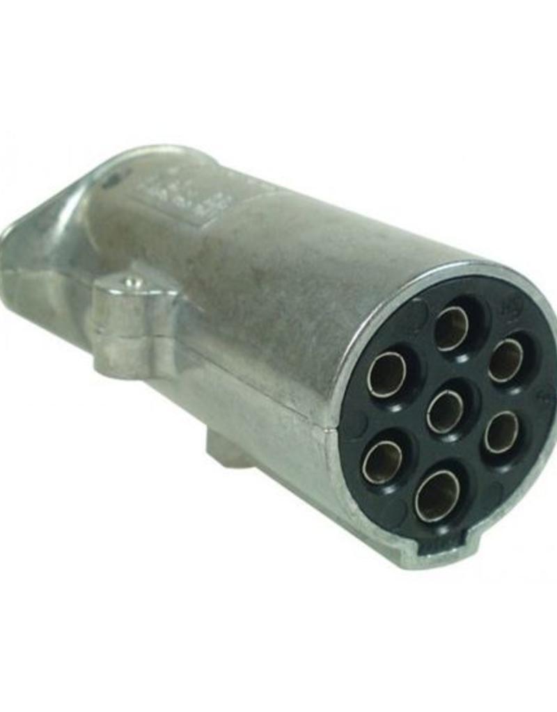 24N 7 Pin Aluminium Plug | Fieldfare Trailer Centre