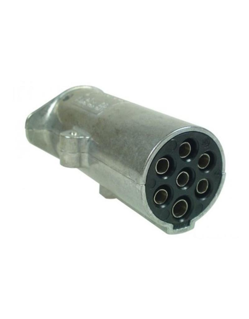 Maypole 24N 7 Pin Aluminium Plug | Fieldfare Trailer Centre