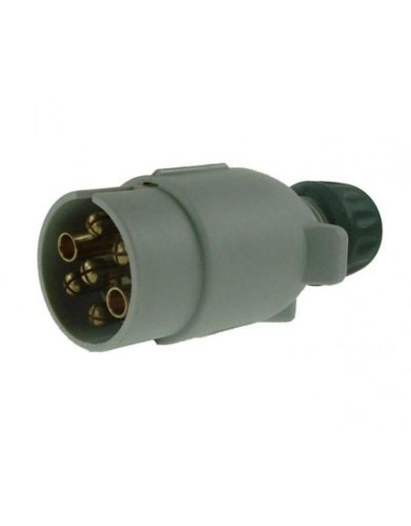 Line 1 12S 7 Pin Plastic Plug | Fieldfare Trailer Centre