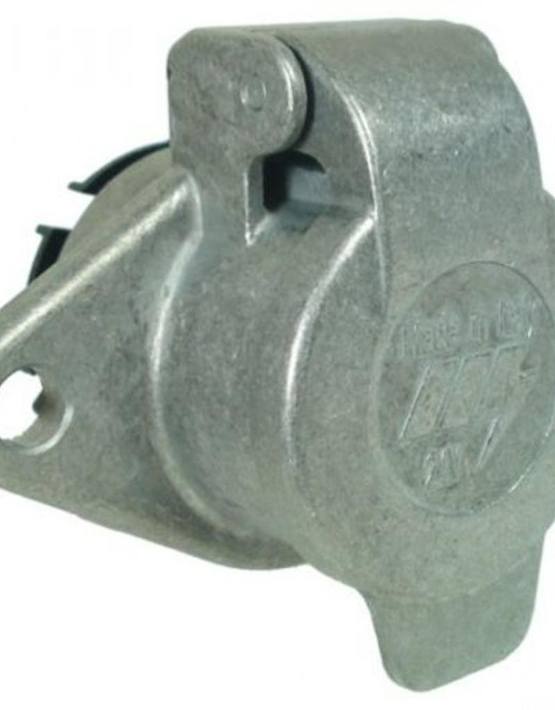 24N 7 Pin Aluminium Socket | Fieldfare Trailer Centre