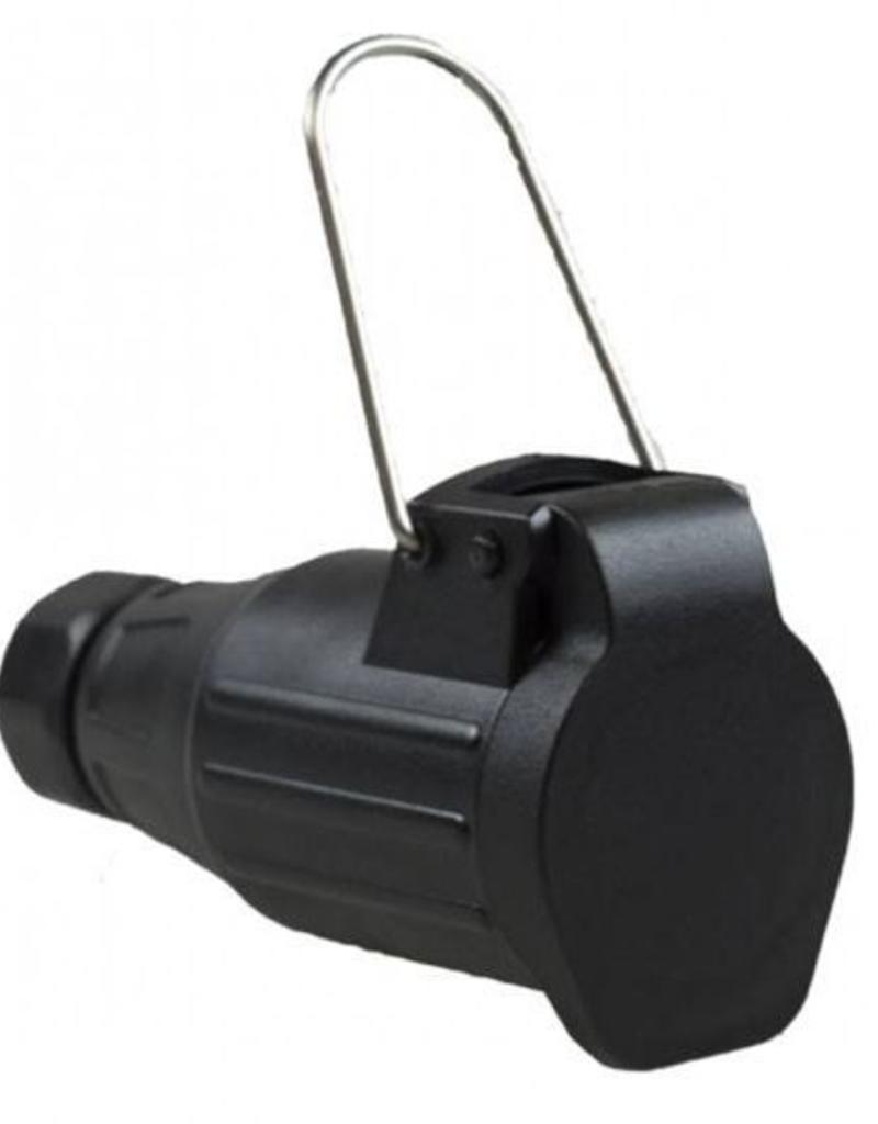 Maypole 8 Pin Extension Lead Socket | Fieldfare Trailer Centre
